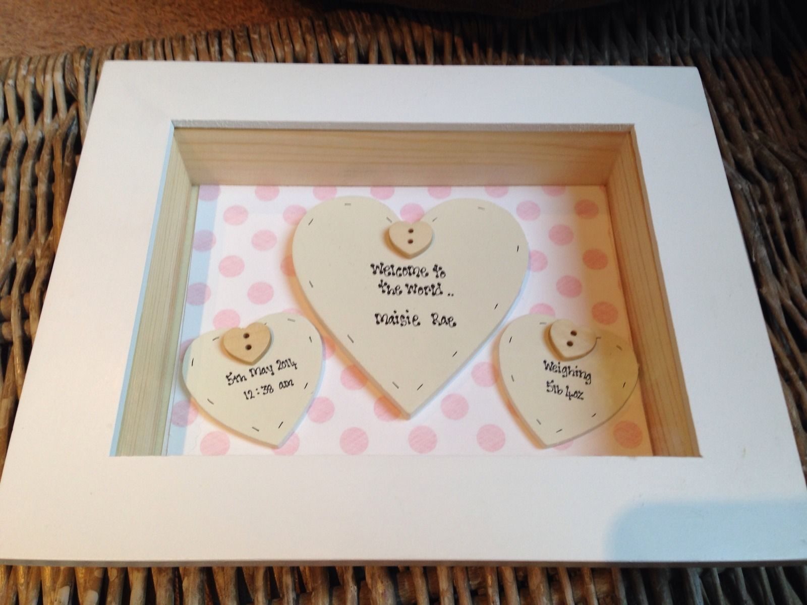 Personalised baby gift boxes uk personalised luxury bathrobe for a personalised baby gift boxes uk personalised baby girl gifts uk shabby chic negle Images